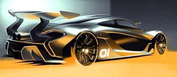 ยลโฉมตัวโหด! McLaren P1 GTR ไฮเปอร์คาร์สำหรับสนามแข่ง