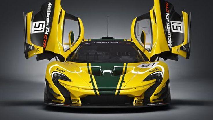 โหดที่สุดในโลก McLaren P1 GTR เผยโฉมรุ่นโปรดักชั่น