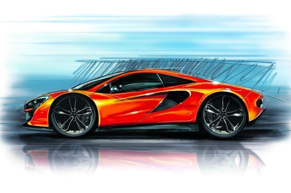 McLaren P13 เปิดตัวปีหน้า แรงม้า 500 ตัว พร้อมชน Porsche 911