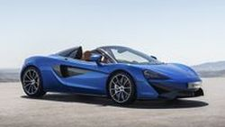 McLaren เปิดตัว 570S Spider เติมสุนทรียภาพรับสายลม