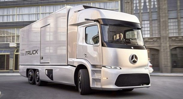Mercedes-Benz eTruck พร้อมเปิดตัวอย่างเป็นทางการในปีนี้ แน่นอน