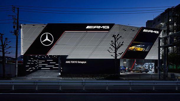 Mercedes-AMG เปิดโชว์รูมแบบสแตนอโลนแห่งแรกในกรุงโตเกียว