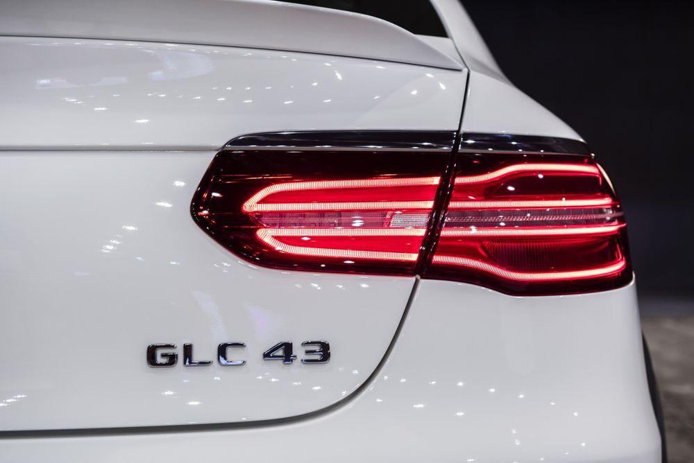 Mercedes-AMG GLC 43 4MATIC Coupé สปอร์ต SUV ความแรงเท่าเดิมเพิ่มเติมราคาใหม่ 4.69 ล้านบาท