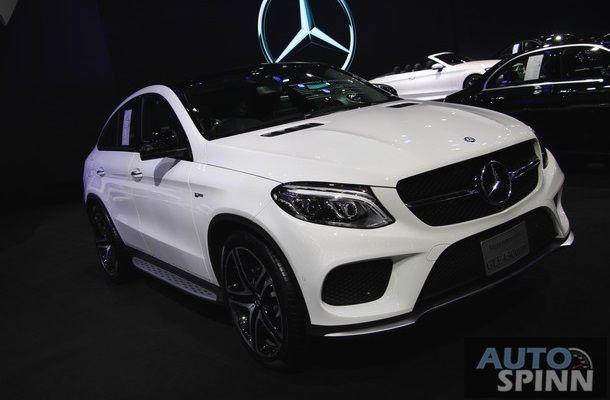 [TIME2016] Mercedes-AMG GLE 43 Coupe อเนกประสงค์หรู พลัง 367 แรงม้า เคาะราคา 7.99 ล้านบาท