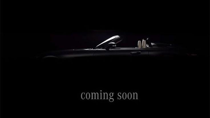 เผยทีเซอร์ Mercedes-AMG GT C โรดสเตอร์ตัวแรง