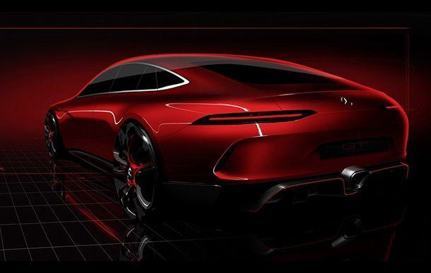 เผยทีเซอร์ Mercedes-AMG GT Concept อาจเป็นรถซีดานสมรรถนะสูงรุ่นใหม่