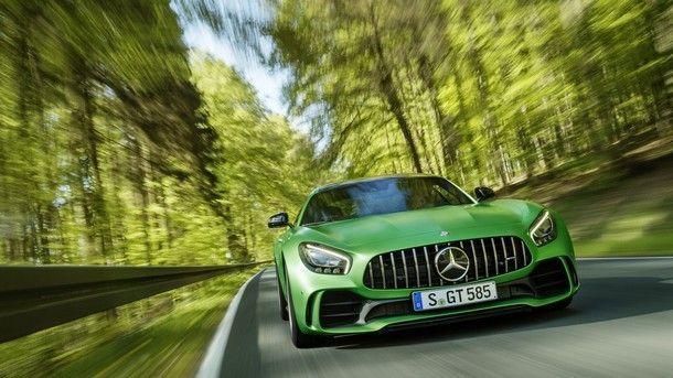 มาแล้ว! Mercedes-AMG GT R รถสปอร์ตตัวท็อปรีดพลังเพิ่มขึ้น และลดน้ำหนักลง