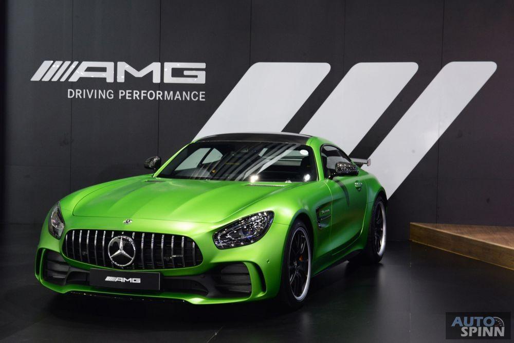 TIME2017: พาชมอสูรกายเขียว Mercedes-AMG GT R พลัง 585 แรงม้า กับค่าตัว 17.4 ล้านบาท