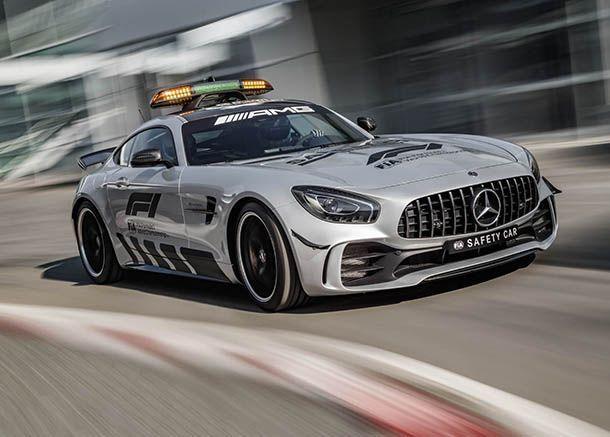 Mercedes-AMG GT R รถเซฟตี้คาร์ที่แรงที่สุดในสนามแข่ง F1