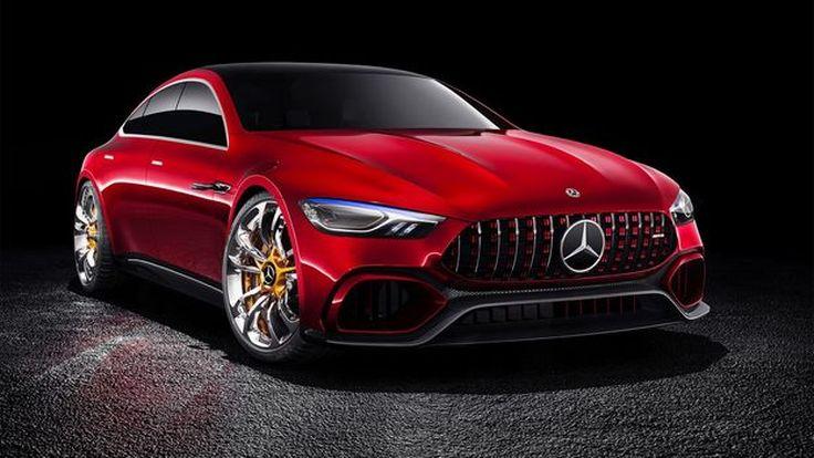 เผยภาพอีกครั้ง Mercedes-AMG GT Sedan คู่แข่งตัวร้าย Porsche Panamera