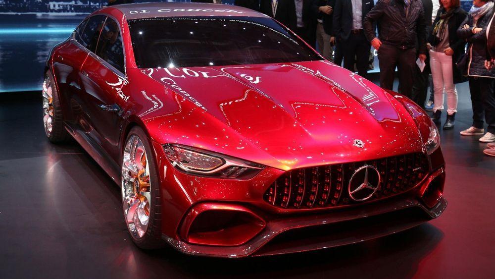 เริ่มวิ่งทดสอบแล้ว !! Mercedes-AMG GT Sedan ว่าที่คู่แข่งใหม่ของ Porsche Panamera