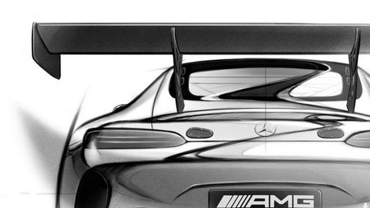 เผยทีเซอร์ Mercedes-AMG GT3 ตัวแข่งรุ่นใหม่ เปิดตัวเดือนหน้า
