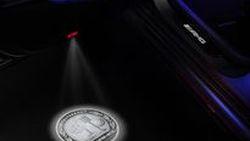 Mercedes-AMG นำเสนออ็อปชั่น LED Projector Lights เพิ่มความงามสง่า