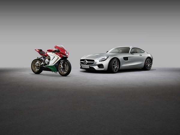 Mercedes-AMG และ MV Agusta เตรียมจำหน่ายรถในดีลเลอร์เดียวกัน