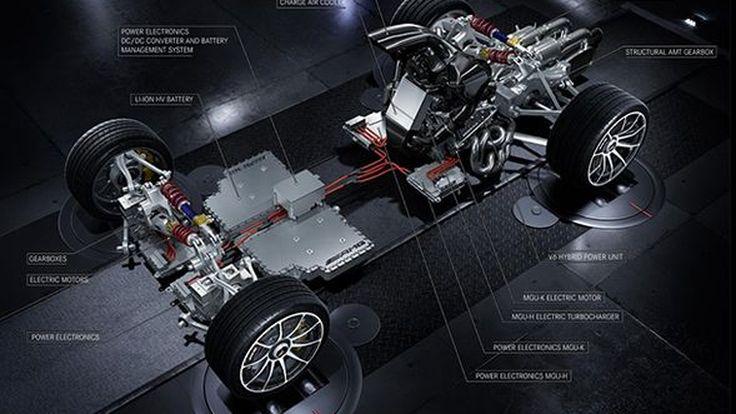 "Mercedes-AMG เผยข้อมูลหัวใจขับเคลื่อนรถไฮเปอร์คาร์ ""Project One"""