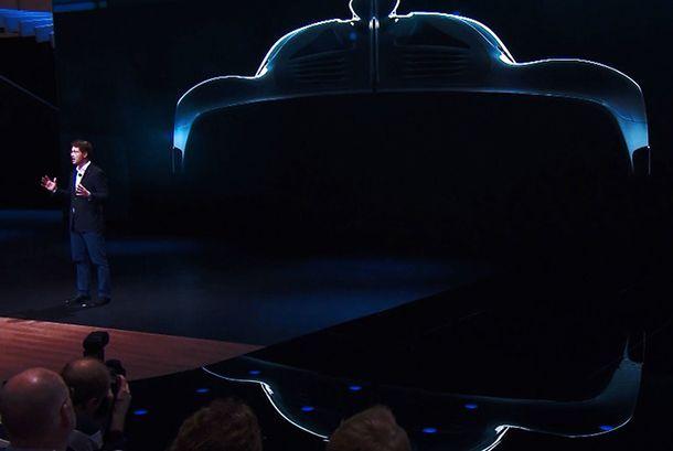 เปิดตัวเลข Mercedes-AMG Project One ไฮเปอร์คาร์พลังทะลุ 1,000 แรงม้า