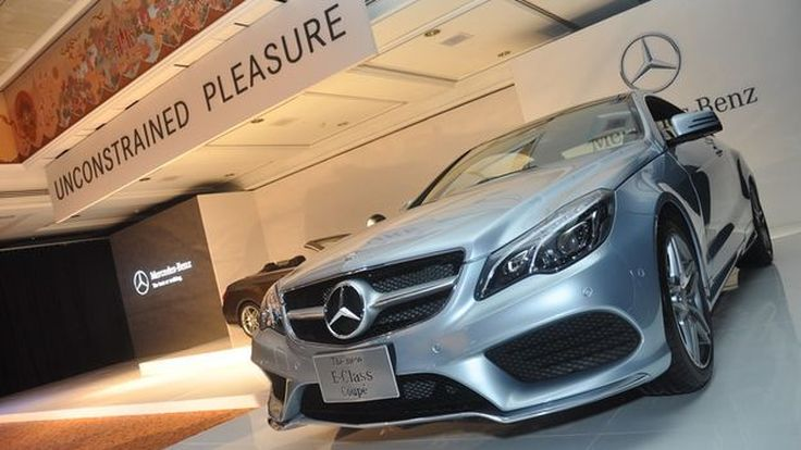 Mercedes-Benz อวด The new E-Class Coupé & Cabriolet ในงานมหกรรมยานยนต์นำเข้าและรถมือสอง ครั้งที่ 5