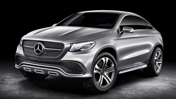 [AutoChina2014] Mercedes-Benz อวดโฉมรถต้นแบบ Concept Coupe SUV คู่แข่ง BMW X6