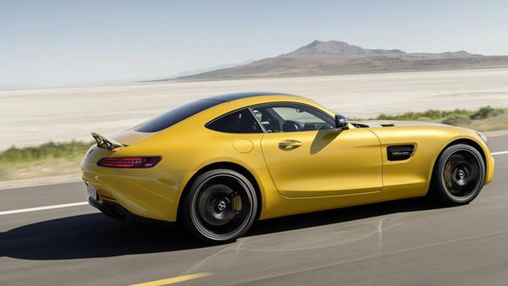 Mercedes-Benz โชว์เทคโนโลยีเครื่องยนต์ V8 ทวินเทอร์โบใน AMG GT