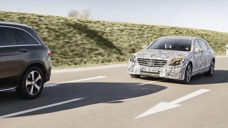 Mercedes-Benz เผยเทคโนโลยีใหม่ล้น 2018 S-Class
