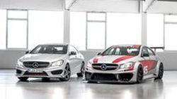 Mercedes-Benz เผยภาพสองซีดาน CLA 45 AMG Racing Series และ CLA 250 Sports
