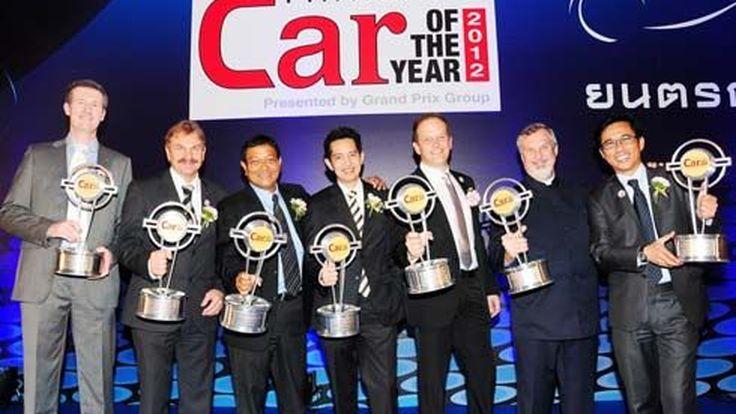 Mercedes-Benz กวาด 7 รางวัลรถยนต์ยอดเยี่ยมแห่งปี 2555 ในงานมอเตอร์โชว์