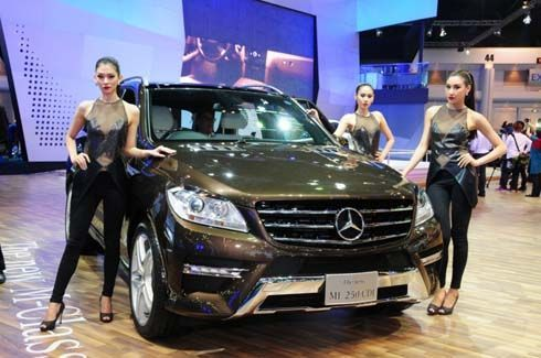 Mercedes-Benz ทำยอดจองภายในงานมอเตอร์โชว์ พุ่งสูงสุดเป็นประวัติการณ์ 1,271 คัน