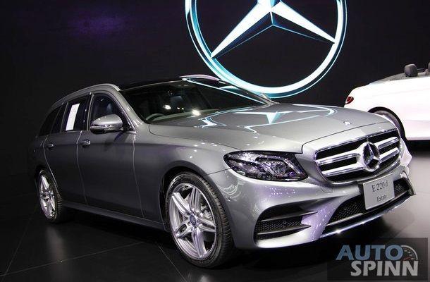 [TIME2016] Mercedes-Benz 220d Estate เอสเตทหรู เปิดตัวครั้งแรกในไทย พร้อมเคาะราคา 4.74 ล้านบาท