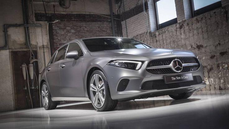 """หัวหน้าทีมดีไซเนอร์ Mercedes-Benz เผย A-Class ใหม่ใช้แนวคิดการออกแบบ """"นักล่า"""""""