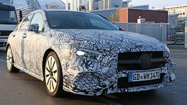 Mercedes-Benz ซุ่มพัฒนา A35 ซีดานตัวแรงแข่ง Audi S3
