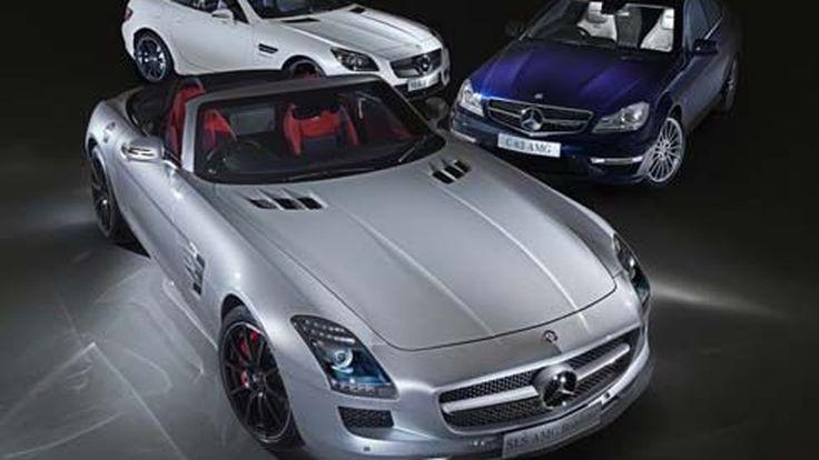 Mercedes-Benz เปิดตัว AMG สามเวอร์ชั่นพิเศษ ในงานออสเตรเลียมอเตอร์โชว์