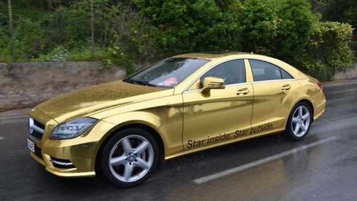 Mercedes ร่วมกับ AMG ส่งรถหรูสีทอง บริการแขก VIP ในงานภาพยนตร์เมืองคานส์