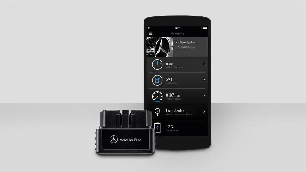รุ่นเก่าก็เข้าสู่เทคโนโลยีดิจิตัลได้ด้วย 'Me' สำหรับ Benz