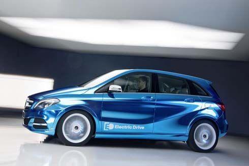 Mercedes-Benz B-Class Electric Drive Concept มีจำหน่ายปี 2014