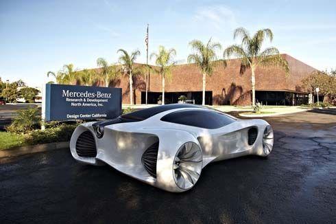 Mercedes-Benz BIOME Concept คูเป้ 2+2 ประตูล้ำเกินจินตนาการ สร้างจาก 2 เมล็ดพันธุ์