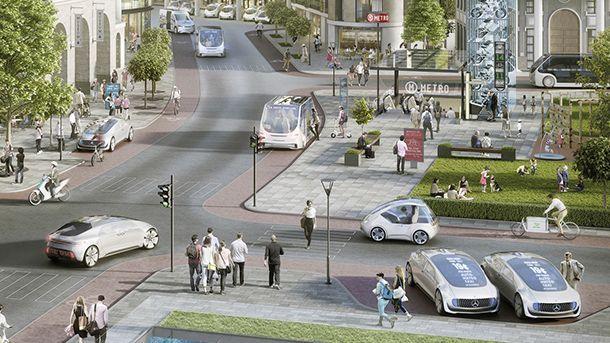 Mercedes-Benz จับมือ Bosch พัฒนารถแท็กซี่ขับขี่อัตโนมัติ