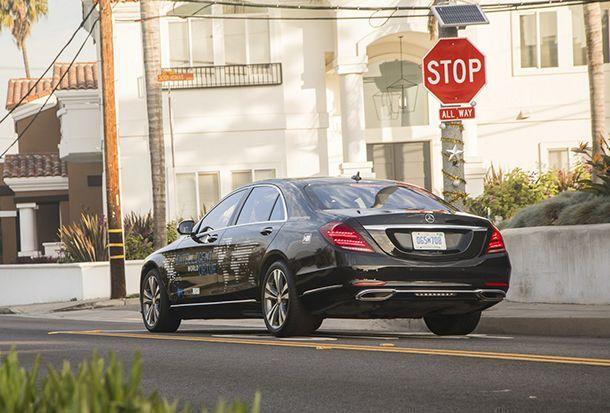 Mercedes-Benz เตรียมทดลองรถแท็กซี่ขับขี่อัตโนมัติภายในปีนี้