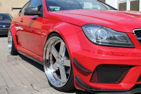 มาดใหม่! Mercedes-Benz C350 Coupe ในชุดแต่ง Black Series จาก SGA