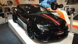 "Mercedes-Benz C63 AMG Black Series ""Black Baron"" ขุมพลัง 606 แรงม้าโดย TIKT"