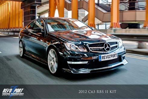 Mercedes-Benz Revozport C63 RBS II แต่งเพิ่มความดุดันสไตล์ฮ่องกง