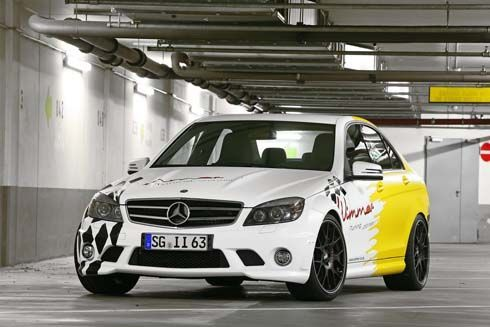 Mercedes-Benz C63 AMG Sedan จาก 457 สู่ 601 แรงม้า โดย Wimmer RS