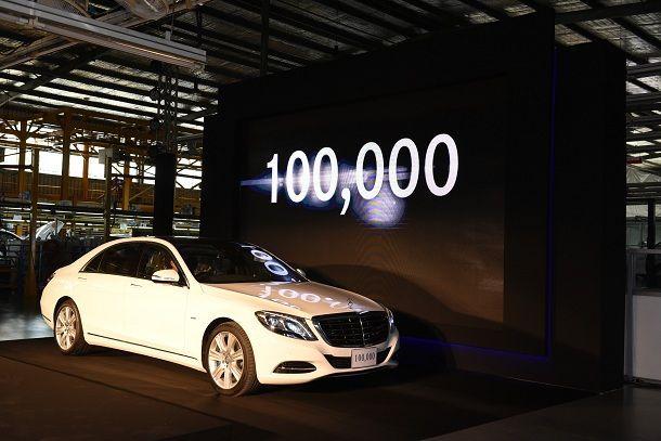 Mercedes-Benz ฉลองประกอบรถในไทยครบ 1 แสนคัน ต่อสัญญาและลงทุนขยายโรงงานร่วมกับธนบุรีประกอบรถยนต์