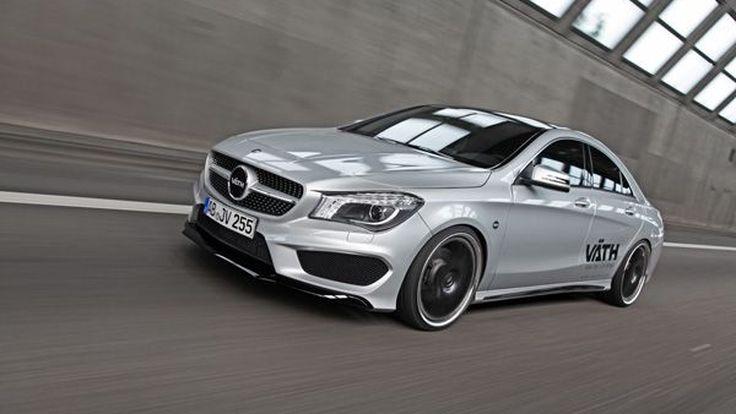 Mercedes-Benz CLA 250 แต่งสวยเติมความแรง 261 แรงม้าโดย Vath