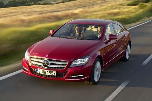 Mercedes-Benz CLS สปอร์ตซีดานหรู ดูดีในภาพชุดใหม่ ก่อนเปิดตัวที่ Paris Motor Show