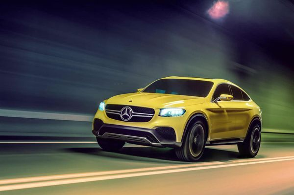 Mercedes-Benz Concept GLC Coupe เปิดขายปีหน้าออกแข่ง BMW X4