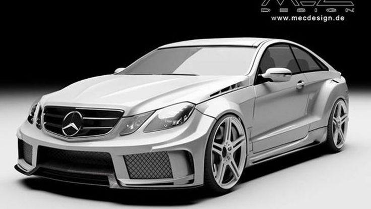 Mercedes-Benz E-Class แต่งบอดี้คิทดึงโป่งฝีมือ MEC Design