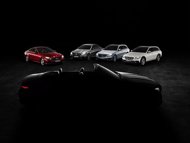 Mercedes-Benz เตรียมส่ง E-Class Cabriolet เติมเต็มไลน์