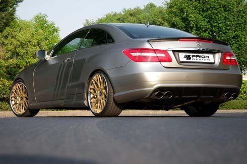 Mercedes-Benz E-Class Coupe Black Desire คูเป้แต่งโฉมคมเข้มทั้งคันโดย Prior Design