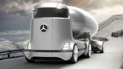 ชมอีกครั้งกับภาพเรนเดอร์ รถบรรทุกพลังงานไฟฟ้าจาก Mercedes-Benz