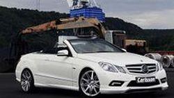 Mercedes-Benz E350 CDI Cabriolet เปิดประทุนหรู แรงขึ้น 21% โดยฝีมือการแต่งจาก Carlsson